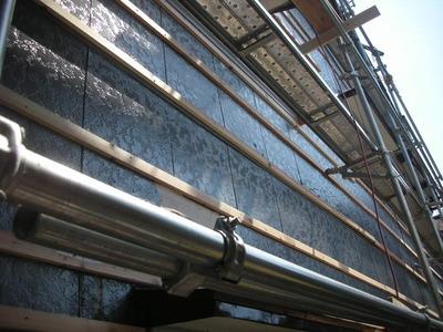 新潟県燕三条 明日から始まる外壁サイディング工事現場に下見に行ってきました。