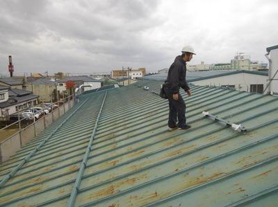 新潟県三条市屋根外壁塗装リフォーム専門店《遠藤組》 屋根の採寸に行って来ました
