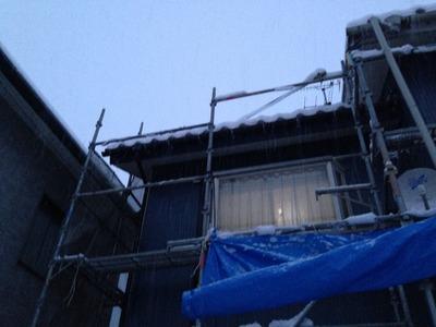 新潟県三条市の屋根外壁リフォーム専門店《遠藤組》今日は関東の方が大雪らしいです。