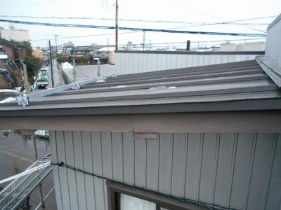 新潟県三条市の屋根外壁塗装リフォーム専門店遠藤組 立平ロック ガルバリウム鋼板