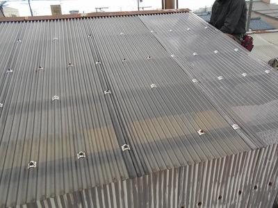 新潟県三条市の屋根外壁塗装リフォーム専門店 遠藤組 年末の修理工事