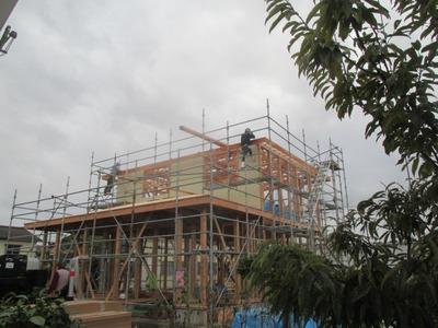 新潟県三条市の屋根外壁塗装リフォーム専門店 遠藤組 安全作業