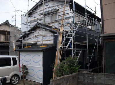 新潟三条屋根外壁塗装リフォーム専門店《遠藤組》 外壁カラーガルバリウム鋼鈑