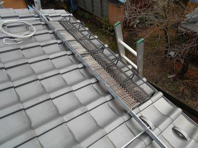 新潟県三条市の屋根外壁塗装リフォーム専門店遠藤組 軒先雪止め 軒先雪止め装置