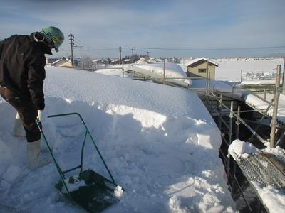 新潟県三条市の屋根外壁塗装リフォーム専門店遠藤組 大雪 雪下ろし