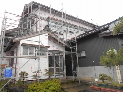 新潟県三条市の屋根外壁塗装リフォーム専門店遠藤組 外壁張り替え工事