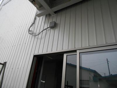 新潟県三条市の外壁カラーGL0.35 角波 遠藤板金工業
