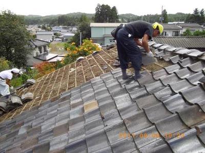 新潟県三条市屋根外壁塗装リフォーム専門店《遠藤組》I様邸屋根葺き替え工事