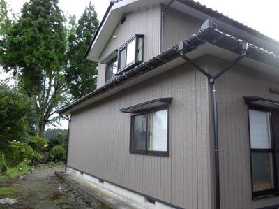 新潟県三条市屋根外壁塗装リフォーム専門店遠藤組 サイディング貼替え