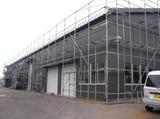 新潟 三条 屋根外壁塗装リフォーム 遠藤組 電動シャッターの取付工事は完了しました