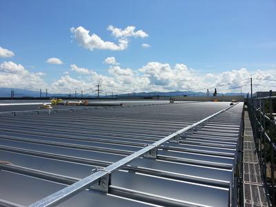 遠藤板金工業有限会社  屋根折板カバー工事