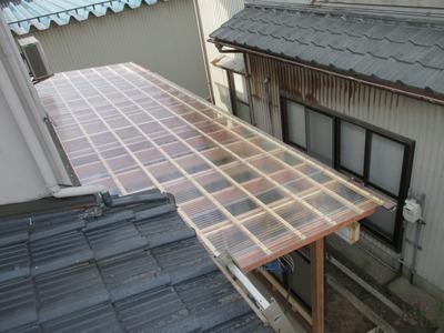 新潟県三条市の屋根外壁塗装リフォーム専門店遠藤組 ポリカ波板屋根