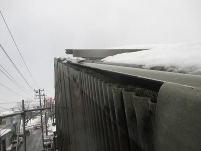 新潟県三条市の屋根外壁塗装リフォーム専門店遠藤組 波板スレート 屋根 修理