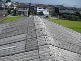 新潟県三条市屋根外壁塗装リフォーム専門店遠藤組 スレート葺きの屋根にカラーガルバリウム鋼鈑をカバー