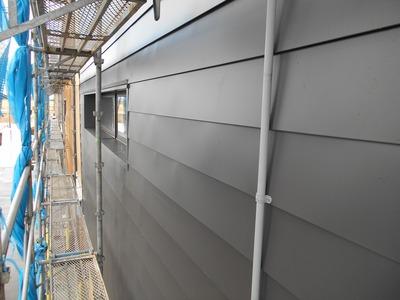 新潟県三条市の屋根外壁塗装リフォーム専門店遠藤組 外壁横葺アポロ式カラーGL