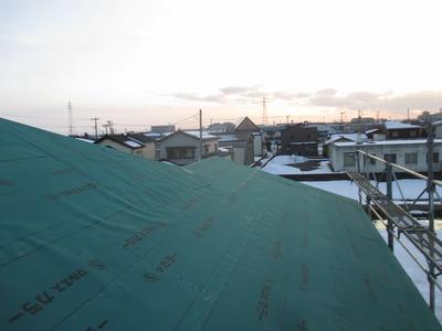 新潟県三条市の屋根外壁塗装リフォーム専門店遠藤組 これから屋根工事5/10勾配