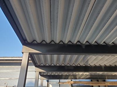 新潟県三条市燕市カーポート屋根タイトフレームが腐食 取り替え見積り
