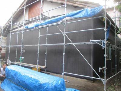 新潟県三条市の屋根外壁塗装リフォーム専門店遠藤組 外壁張り替えニチハたて張り