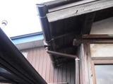 新潟県三条市屋根外壁塗装リフォーム専門店遠藤組 雨樋取替え工事完了