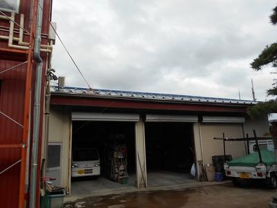 新潟県三条市の屋根外壁塗装リフォーム専門店《遠藤組》 カバー工事完了