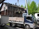 新潟県三条市屋根外壁塗装リフォーム専門店遠藤組 ガルバリウム鋼鈑の横葺屋根を葺く工事です。