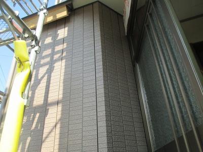 新潟県三条市の屋根外壁塗装リフォーム専門店遠藤組 アイジーガルバ銘壁i 縦石積