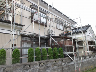 新潟県三条市の屋根外壁塗装リフォーム専門店遠藤組 住宅外部塗装工事