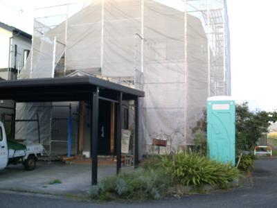 新潟県三条市の屋根外壁塗装リフォーム専門店《遠藤組》仮設足場