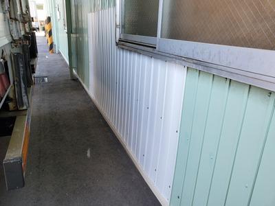 新潟県三条市の外壁板金塗装工事「遠藤組」遠藤板金工業有限会社 角波カラーGL