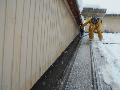 新潟県三条市の屋根外壁塗装リフォーム専門店遠藤組 屋根 リフォーム 雪