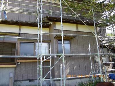 新潟県三条市屋根外壁塗装リフォーム専門店《遠藤組》アイジー銘壁縦石積モード1