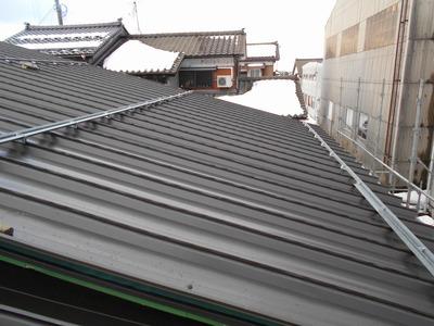 新潟県三条市の屋根外壁塗装リフォーム専門店遠藤組 屋根カバー 他