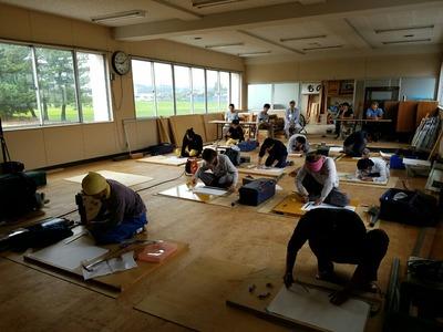 新潟県三条市の屋根外壁塗装リフォーム専門店遠藤組 技能検定直前練習会