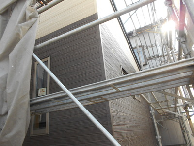 新潟県三条市の屋根外壁塗装リフォーム専門店遠藤組 サイディング工事