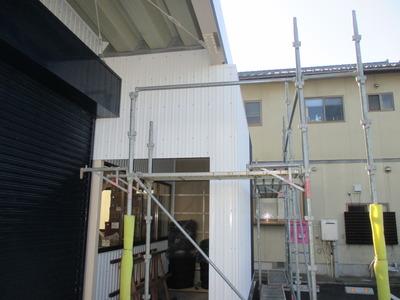 新潟県三条市の屋根外壁塗装リフォーム専門店 遠藤組 角波カラーGL貼り
