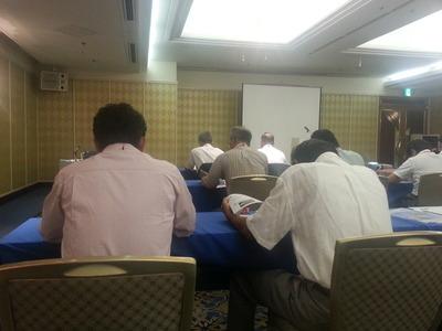 ニチハの講習会に参加しています。
