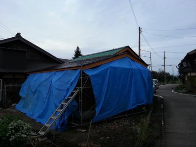 ステンレス製屋根