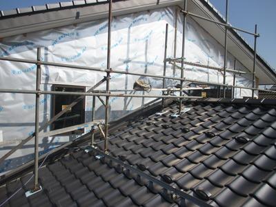 新潟県三条市の屋根外壁雨樋の遠藤板金工業 破風、土居棟包