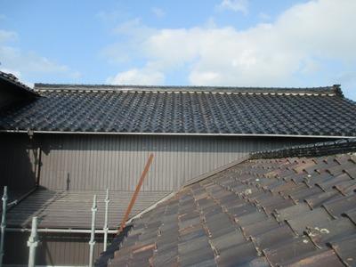 新潟県三条市の屋根外壁塗装リフォーム専門店遠藤組 角波カラーGL貼り