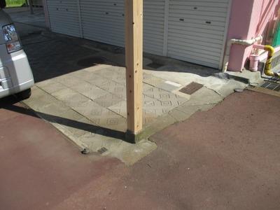 三条市の屋根外壁塗装リフォーム専門店遠藤組 長岡市柱包みと立樋修理