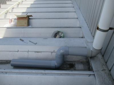 新潟県三条市の屋根外壁塗装リフォーム専門店遠藤組 三条市I様下屋取り付け部雨漏り修理