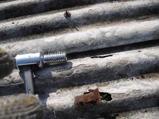 波型スレート屋根の応急修理