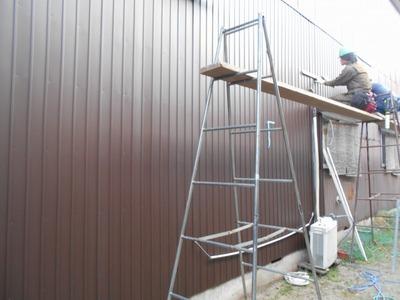 新潟県三条市の屋根外壁塗装リフォーム専門店遠藤組 三条市外壁カバー工事