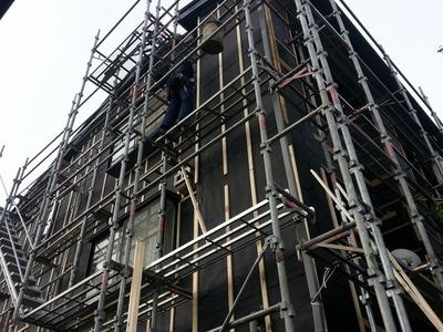 新潟県三条市の屋根外壁塗装リフォーム専門店遠藤組 三条市N様邸外壁張り替え工事