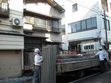 本寺小路料亭S様足場架かりました。 新潟県三条市リフォーム専門店