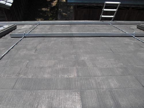新潟 屋根外壁塗装リフォーム工事専門店《遠藤組》コロニアル屋根雪止め金具