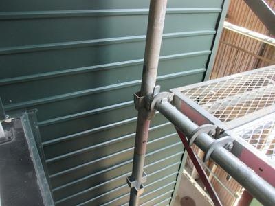 新潟県三条市の屋根外壁塗装リフォーム専門店遠藤組 角波カラーガルバリウム鋼板張り