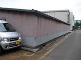 新潟県三条市外壁屋根塗装リフォーム専門店遠藤組車庫外壁のカバー工事