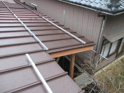 新潟県三条市の屋根外壁塗装リフォーム専門店遠藤組 瓦棒葺