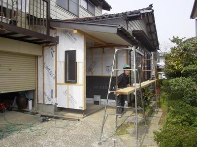 新潟県三条市の屋根外壁塗装リフォーム専門店《遠藤組》玄関のリフォーム